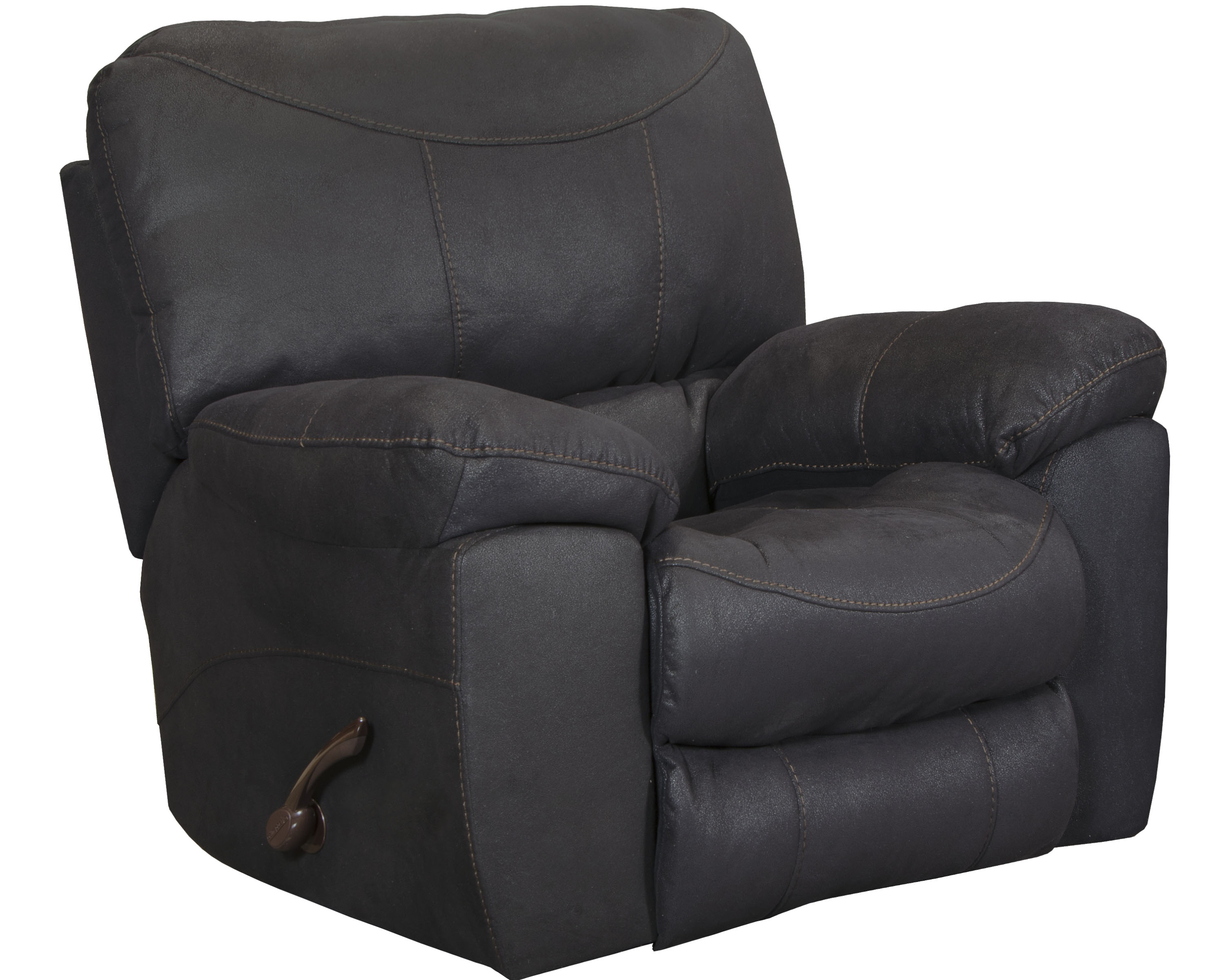 Terrance Black Rocker Recliner by Catnapper®
