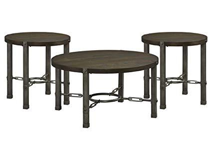 Larado Dark 3-Pack Table Set by Standard®