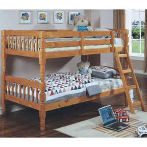 wood bunkbed
