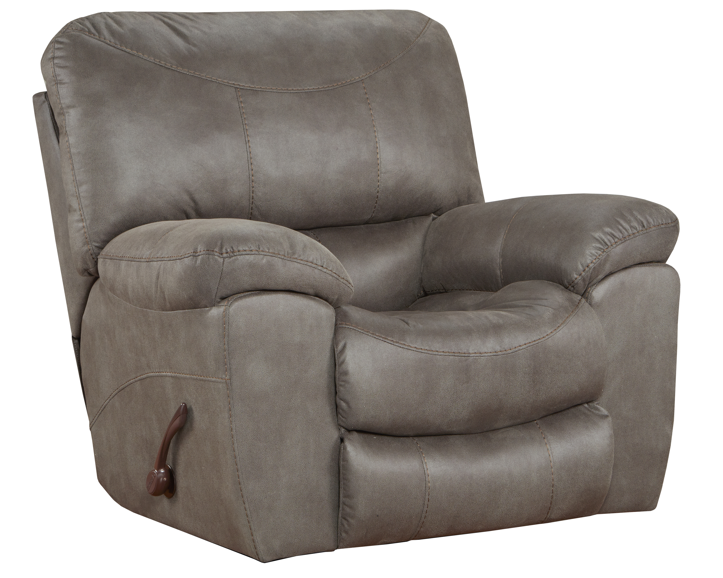 Trent Charcoal Rocker Recliner by Catnapper®