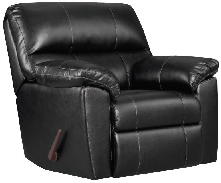Austin Black Rocker Recliner by Affordable®