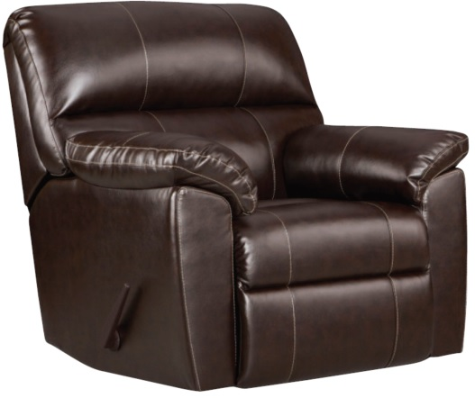 Austin Chocolate Rocker Recliner by Affordable®