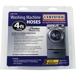 "48"" Braided Stainless Steel Washer Hoses • $21.99"