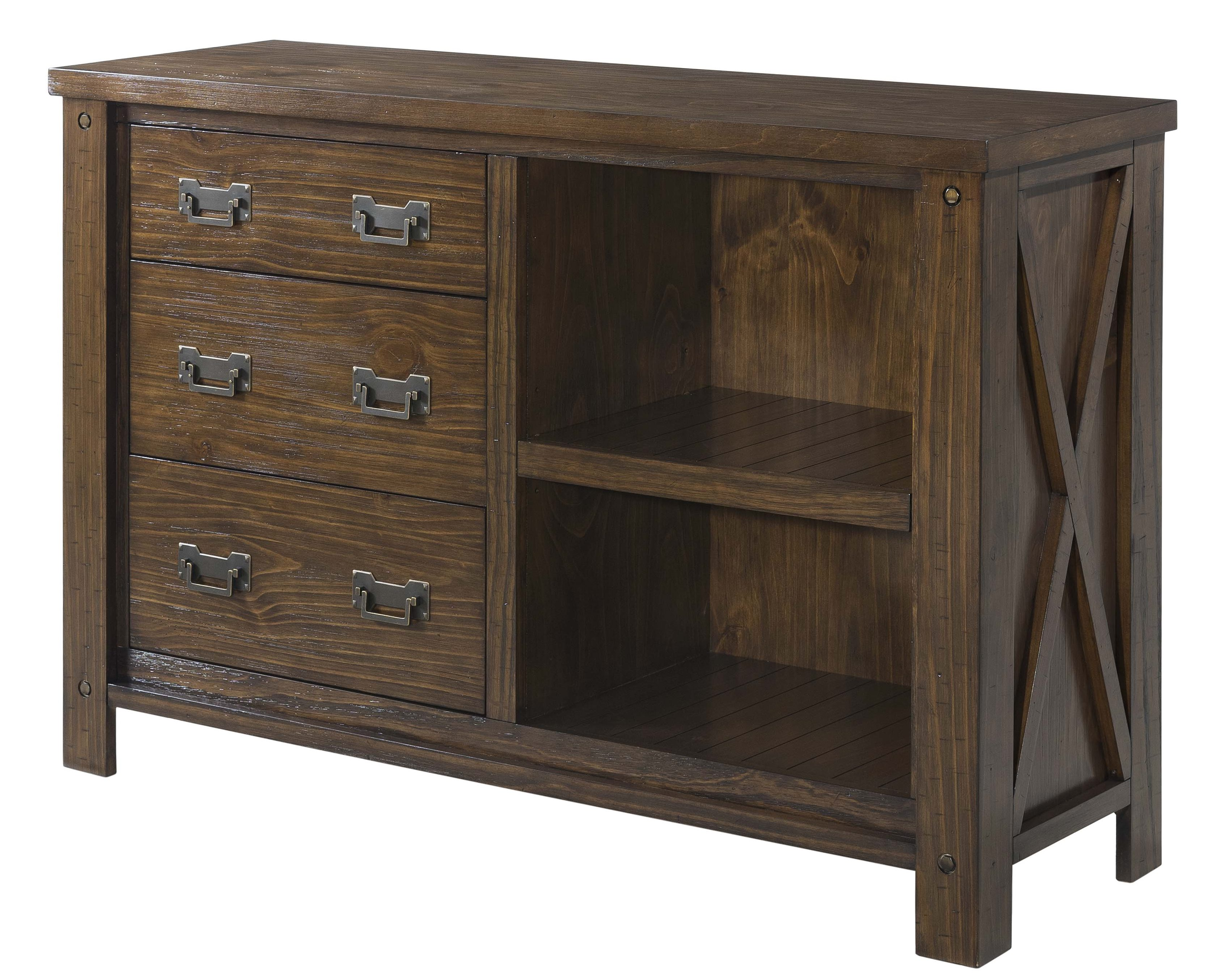 "Franklin 56"" Console / Server • Rich Chestnut Finish"