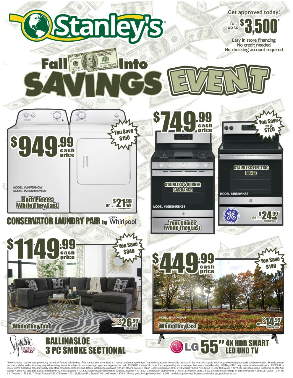 2021 - Fall into Savings - facebook front page